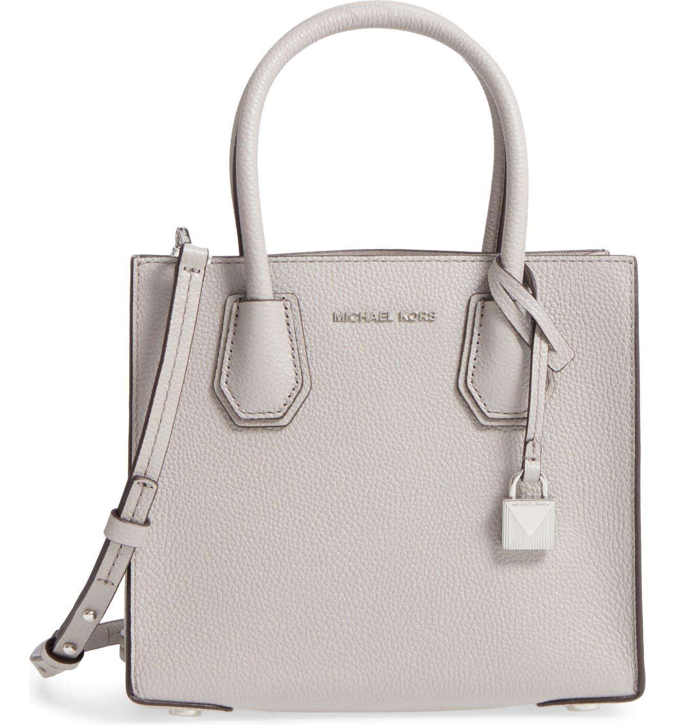 acff6e0fc5e9 MICHAEL Michael Kors Mercer Leather Crossbody Bag | Nordstrom