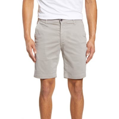 Ag Wanderer Modern Slim Fit Print Twill Shorts, Metallic