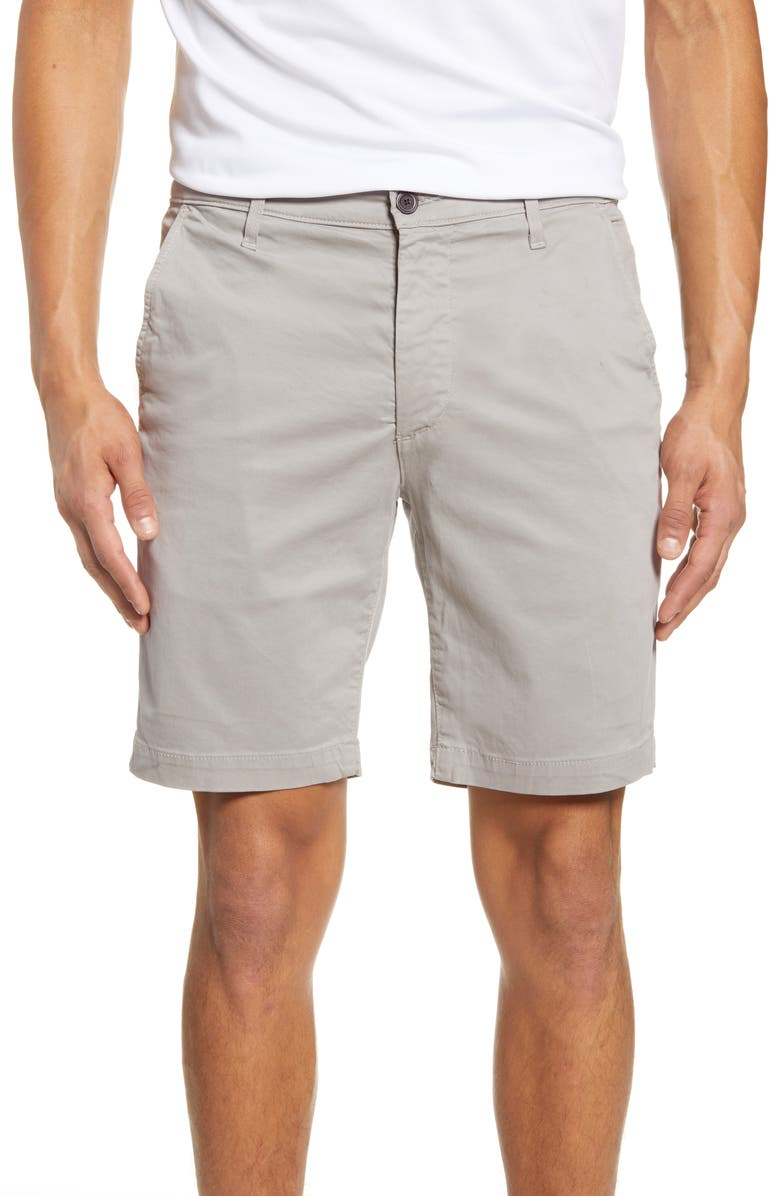AG Wanderer Modern Slim Fit Shorts, Main, color, FLORENCE FOG