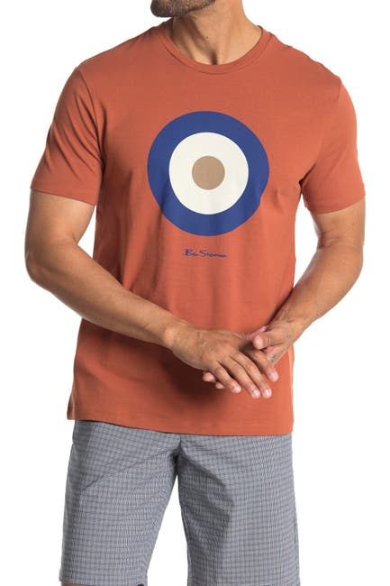 Image of Ben Sherman Crew Neck Graphic T-Shirt