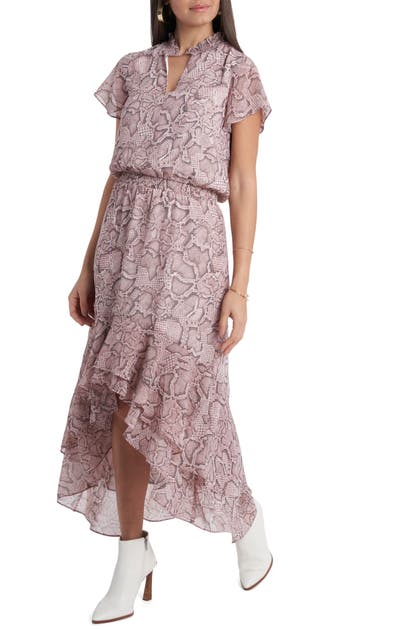 1.state WILDLFOWER BOUQUET HIGH/LOW DRESS