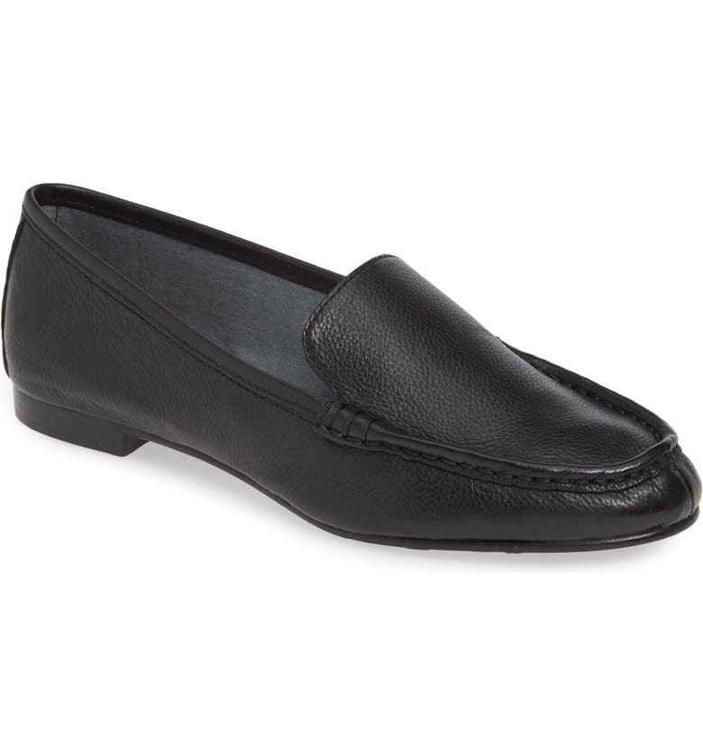 TARYN ROSE COLLECTION Diana Loafer, Main, color, BLACK LEATHER