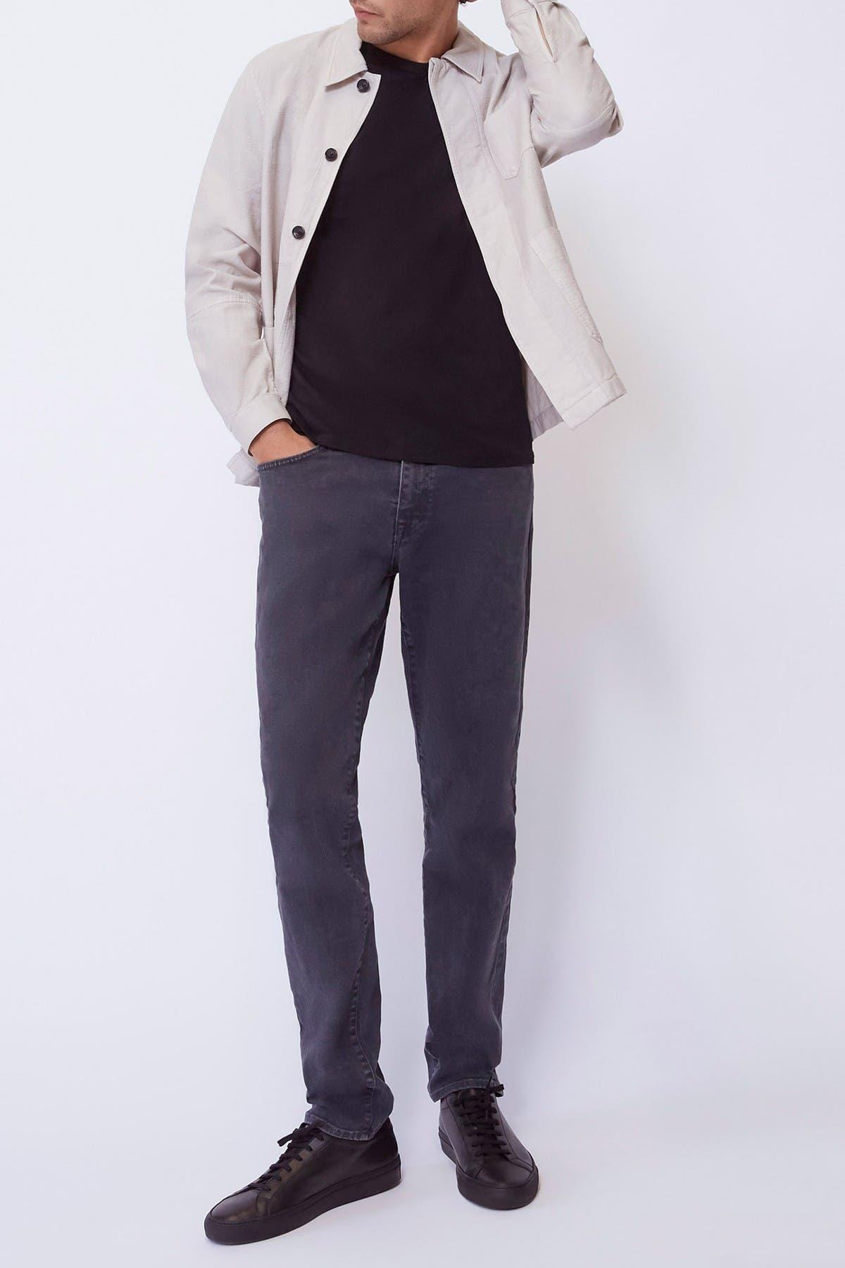 Image of BALDWIN Modern Slim Fit Solid Jeans