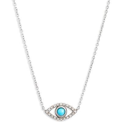 Anzie Evil Eye Turquoise Pendant