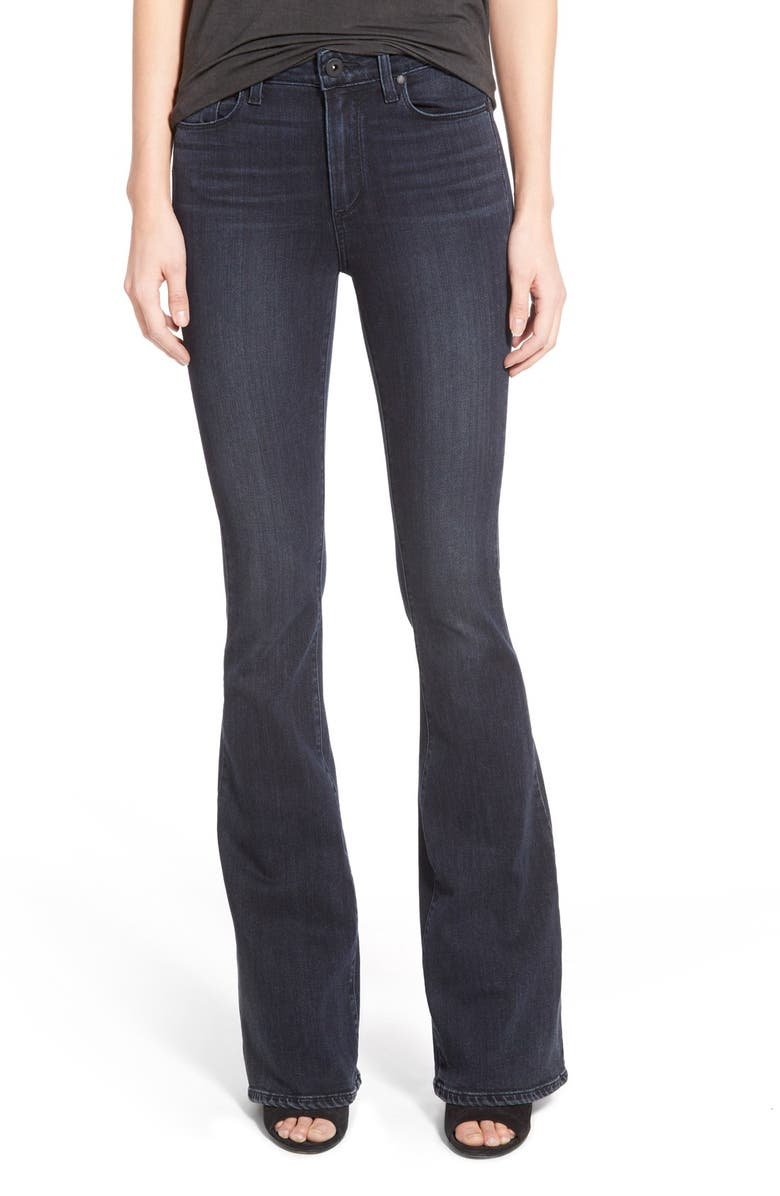 PAIGE Denim 'Bell Canyon' High Rise Jeans, Main, color, 400