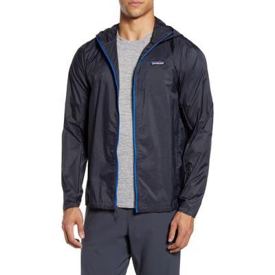 Patagonia Houdini Water Repellent Hooded Jacket, Blue