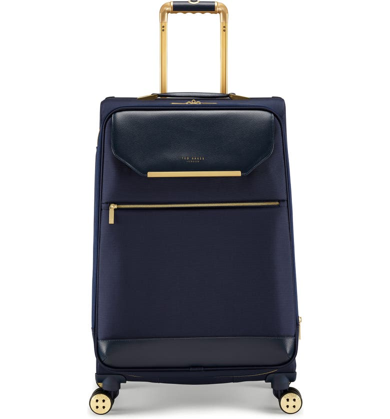 TED BAKER LONDON Medium Albany 27-Inch Spinner Suitcase, Main, color, NAVY