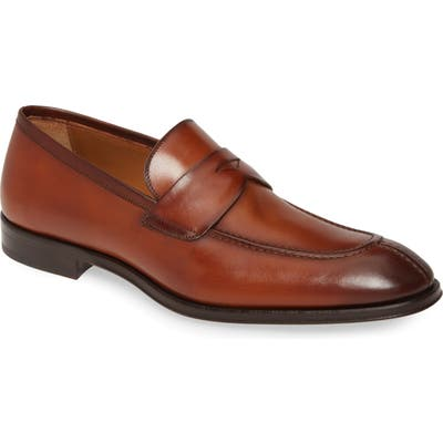 Bruno Magli Luigi Penny Loafer- Brown