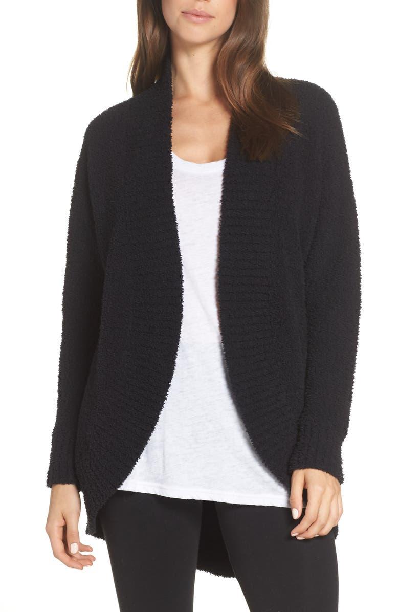 UGG<SUP>®</SUP> Fremont Cardigan, Main, color, BLACK