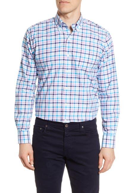 Image of Peter Millar Coulson Multi Check Regular Fit Shirt