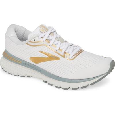 Brooks Adrenaline Gts 20 Running Shoe, White