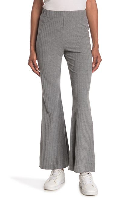 Image of Sophie Rue Ribbed Knit Wide Leg Pants