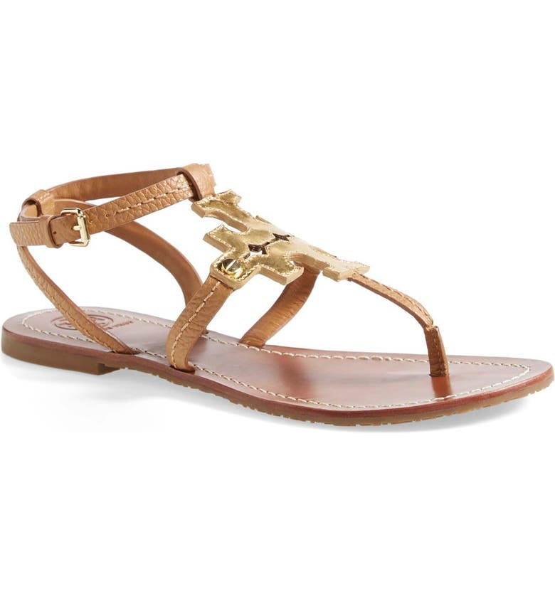 TORY BURCH 'Chandler' Leather Sandal, Main, color, 710