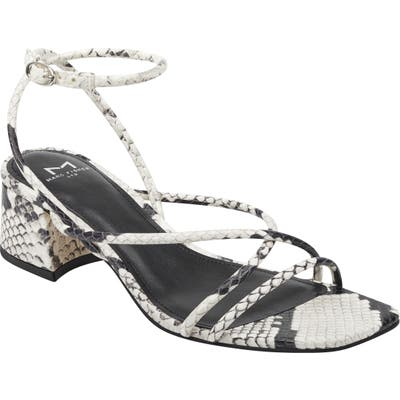 Marc Fisher Ltd Jared Ankle Strap Sandal, Grey