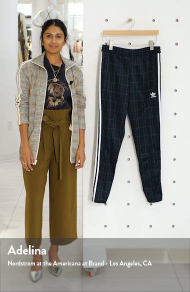 Adicolor Tartan Track Pants, sales video thumbnail