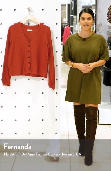 Texture & Thread Bubble-Sleeve Cardigan, sales video thumbnail