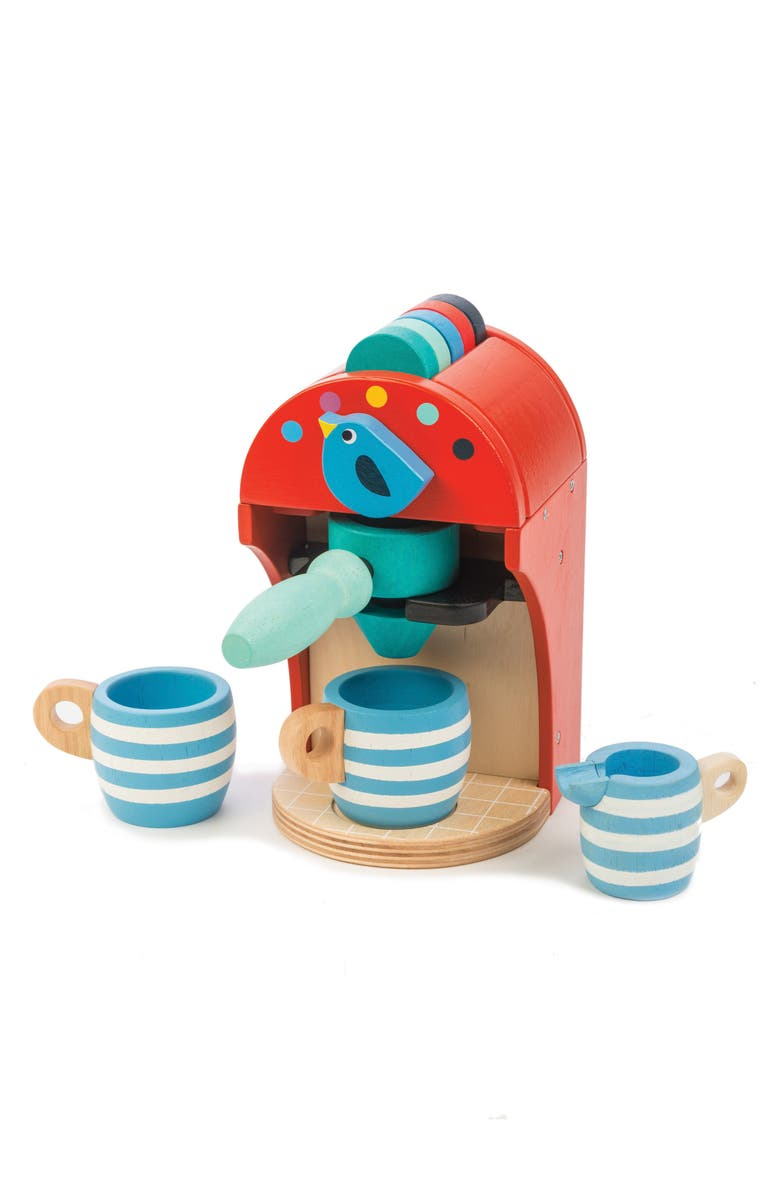 TENDER LEAF TOYS Espresso Machine Toy, Main, color, MULTI