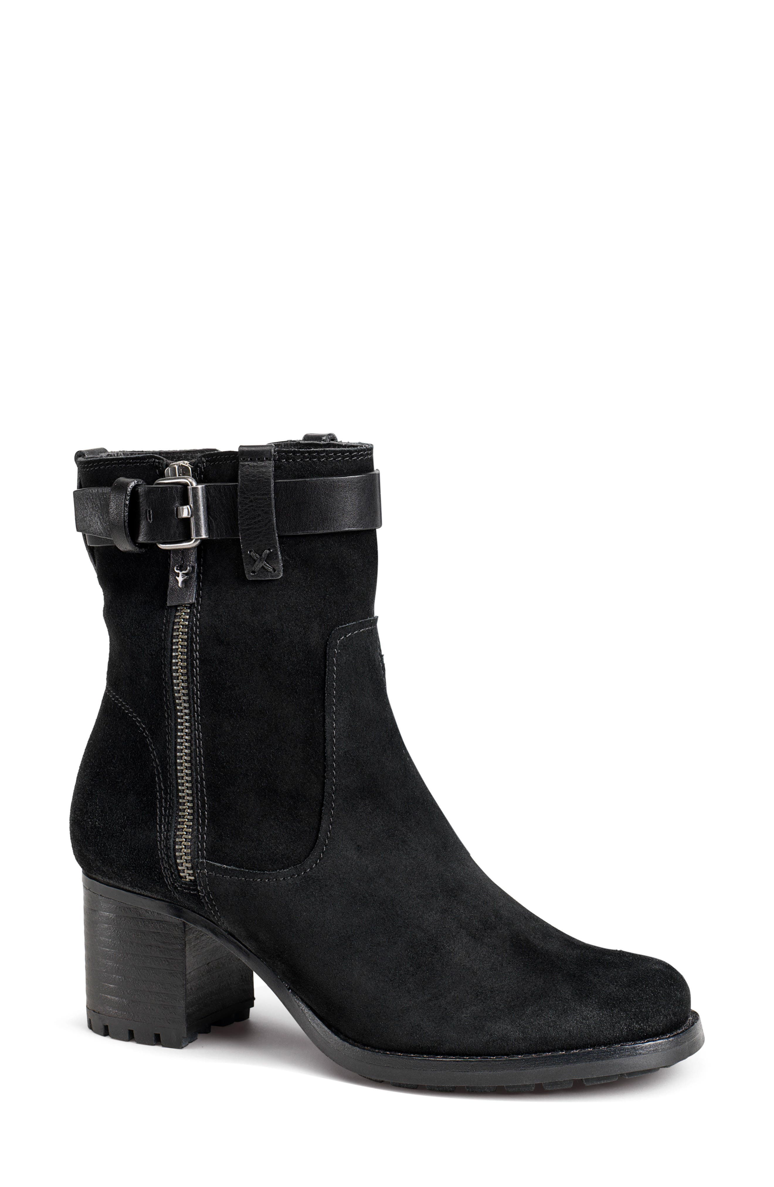 Trask Madison Waterproof Boot- Black