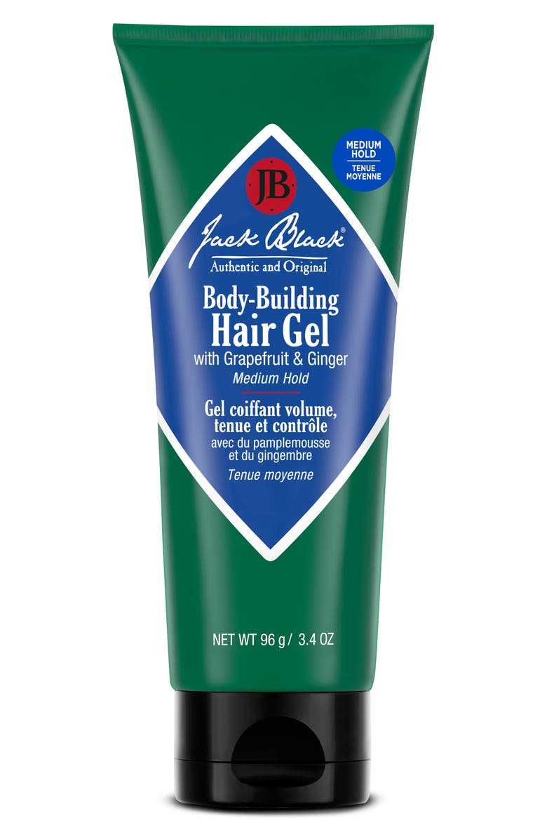 JACK BLACK Body-Building Hair Gel, Main, color, 000