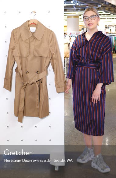 Midi Trench Coat, sales video thumbnail