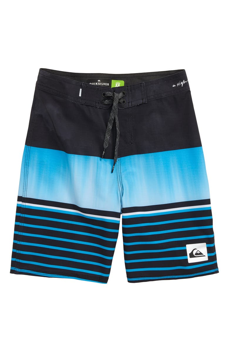 QUIKSILVER Highline Swell Vision Board Shorts, Main, color, BLACK