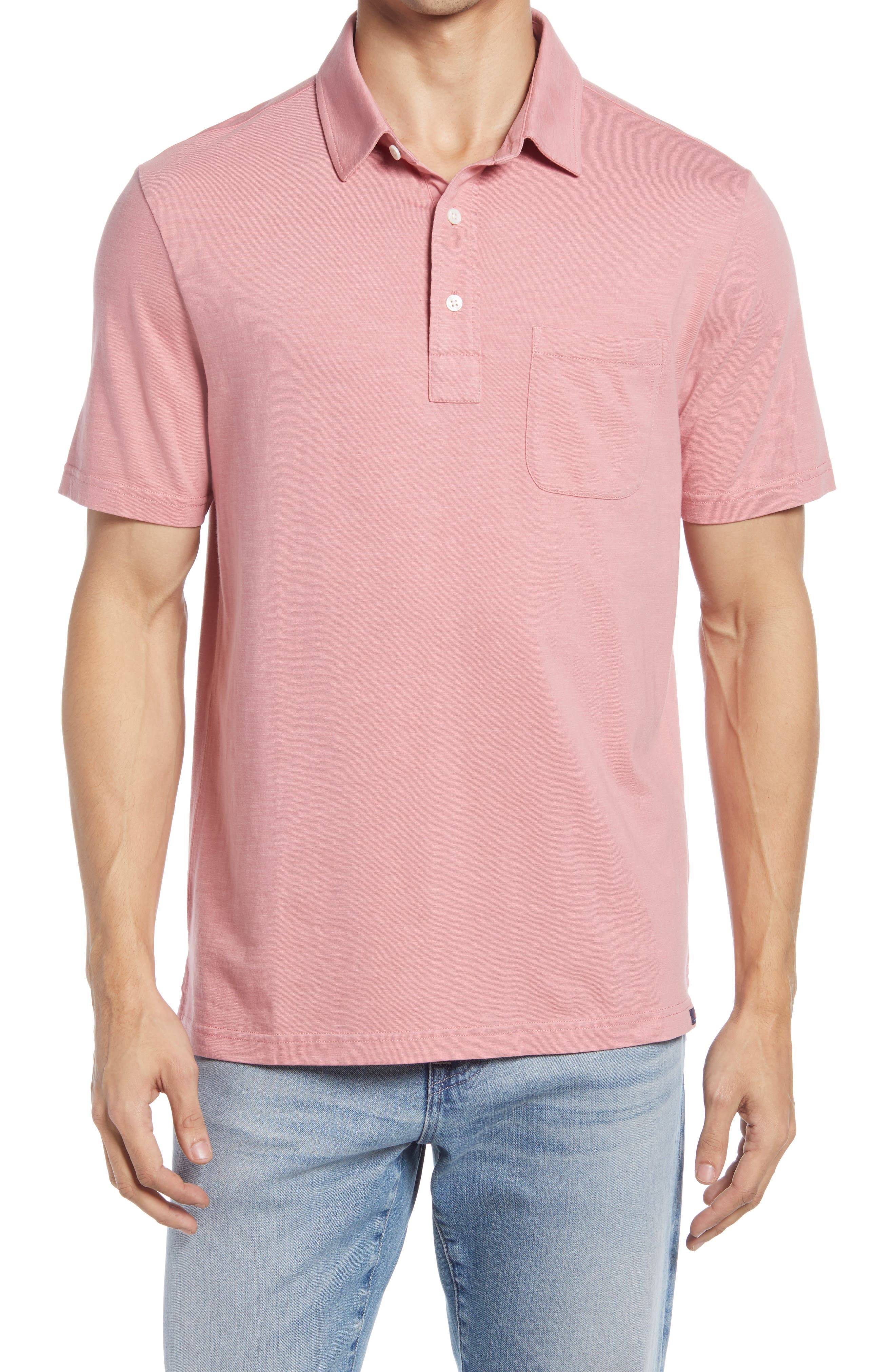 Sunwashed Organic Cotton Polo