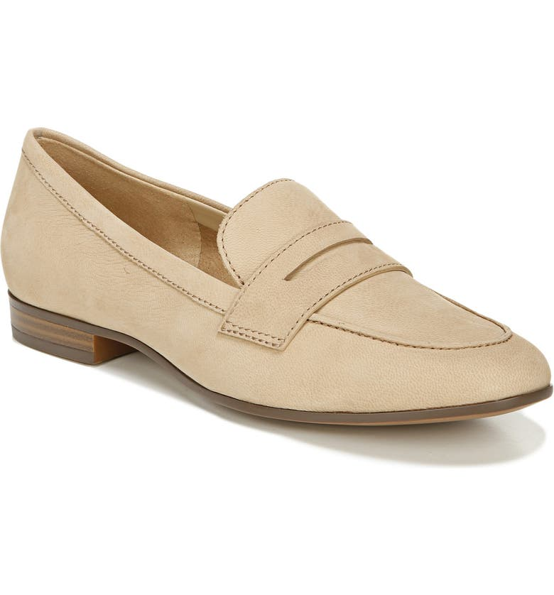 NATURALIZER Juliette Loafer, Main, color, BAMBOO TAN LEATHER