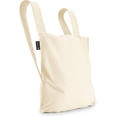 Notabag Convertible Tote Backpack - White