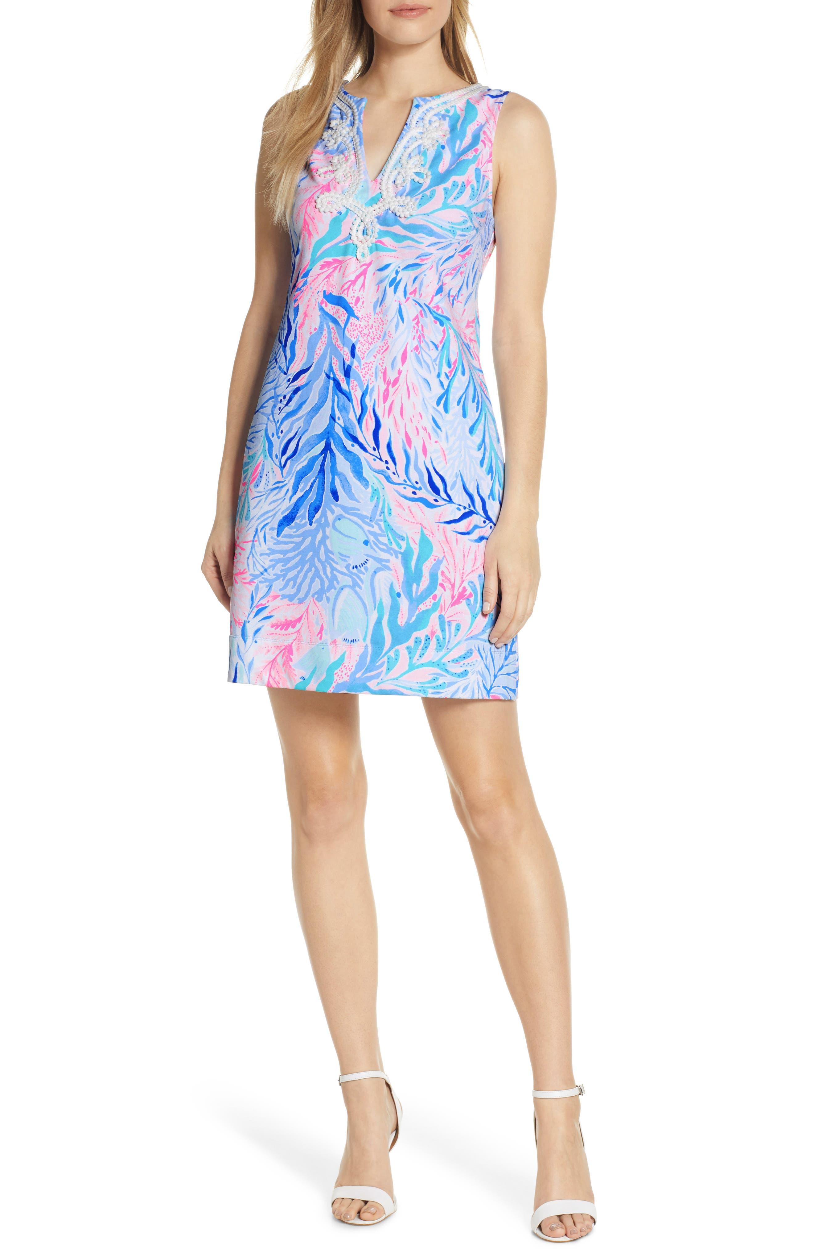 Lilly Pulitzer Harper Shift Dress, Blue
