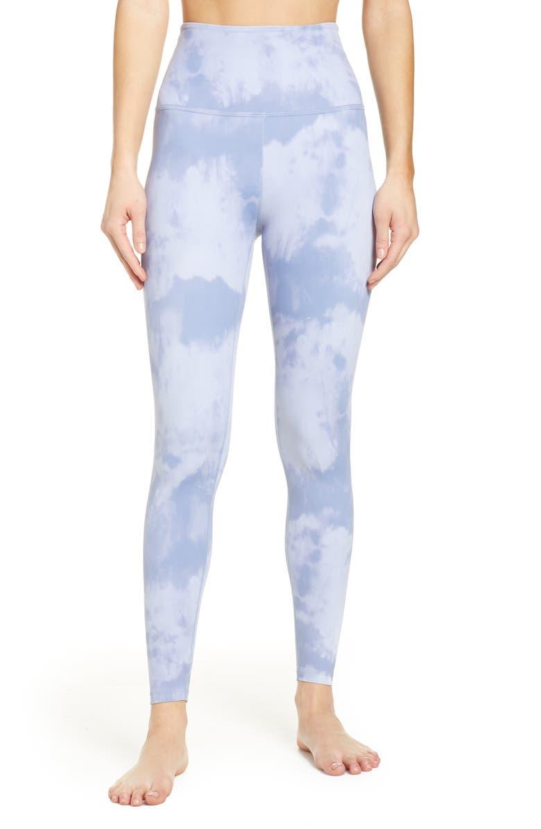 BEYOND YOGA High Waist Print Leggings, Main, color, 447