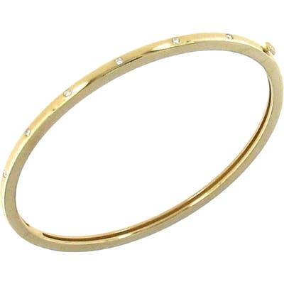 Roberto Coin Diamond Bangle Bracelet