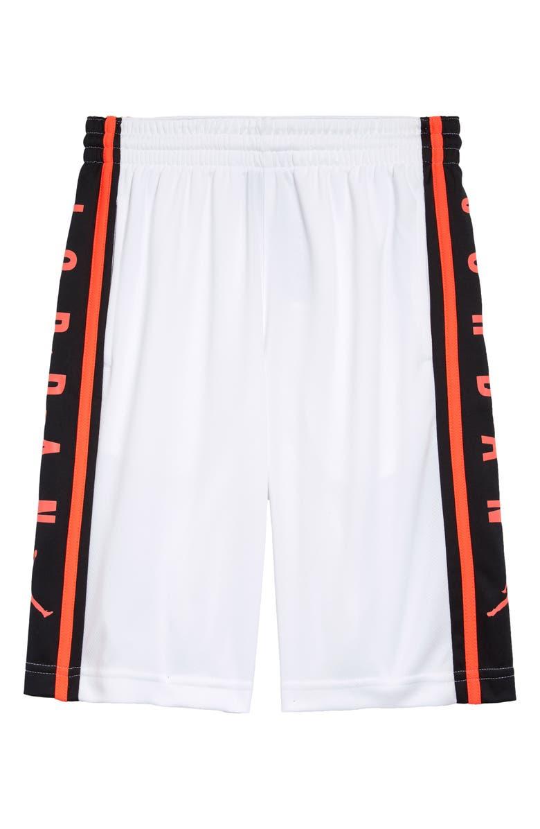 JORDAN Air Jordan Dri-FIT Basketball Shorts, Main, color, WHITE