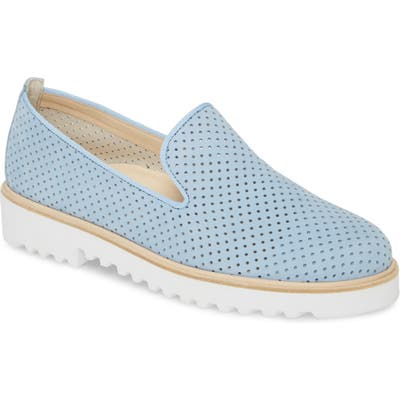 Paul Green Cailey Perforated Loafer, US/ 2.5UK - Blue