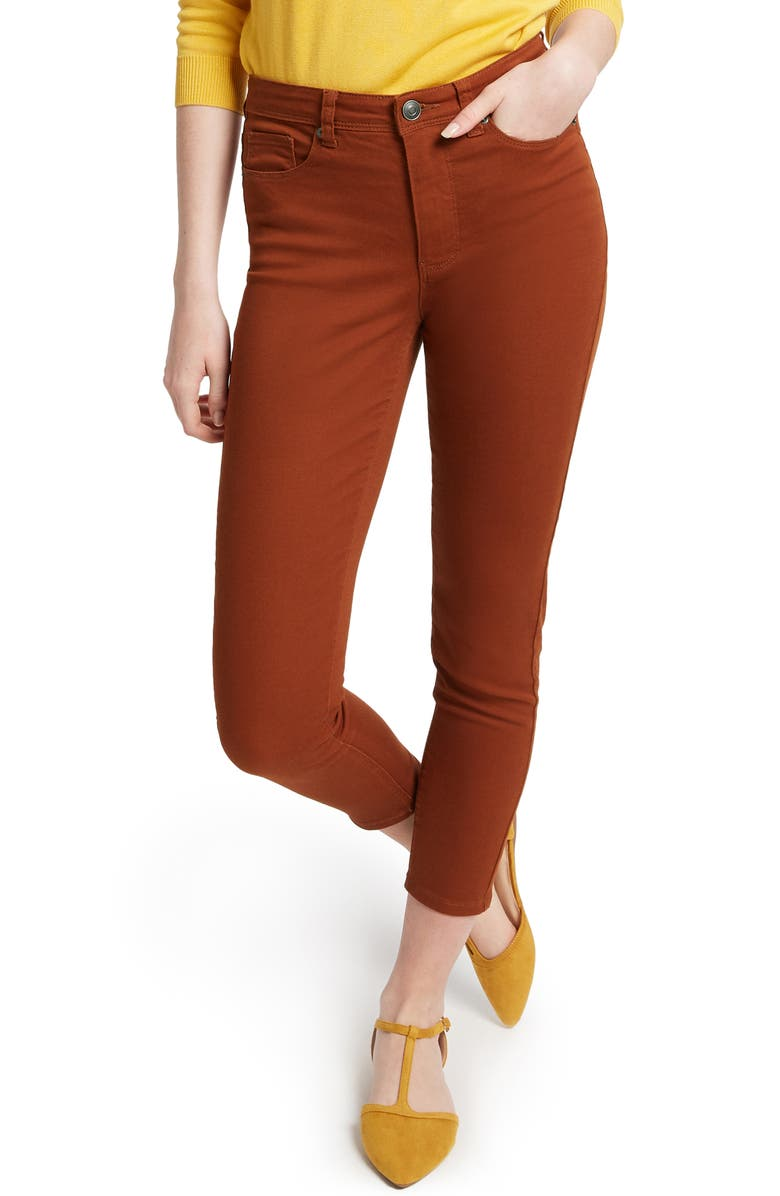 MODCLOTH Colored Crop Skinny Jeans, Main, color, 200