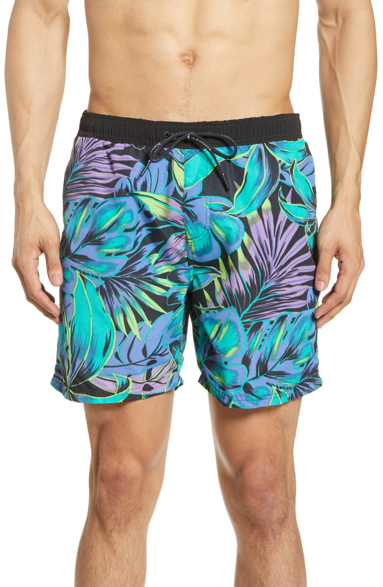 SCOTCH & SODA Classic Swim Trunks, Main, color, COMBO A