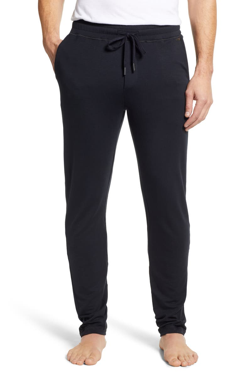 HANRO Living Relax Lounge Pants, Main, color, 002