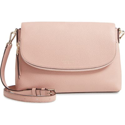 Kate Spade New York Large Polly Leather Crossbody Bag - Pink