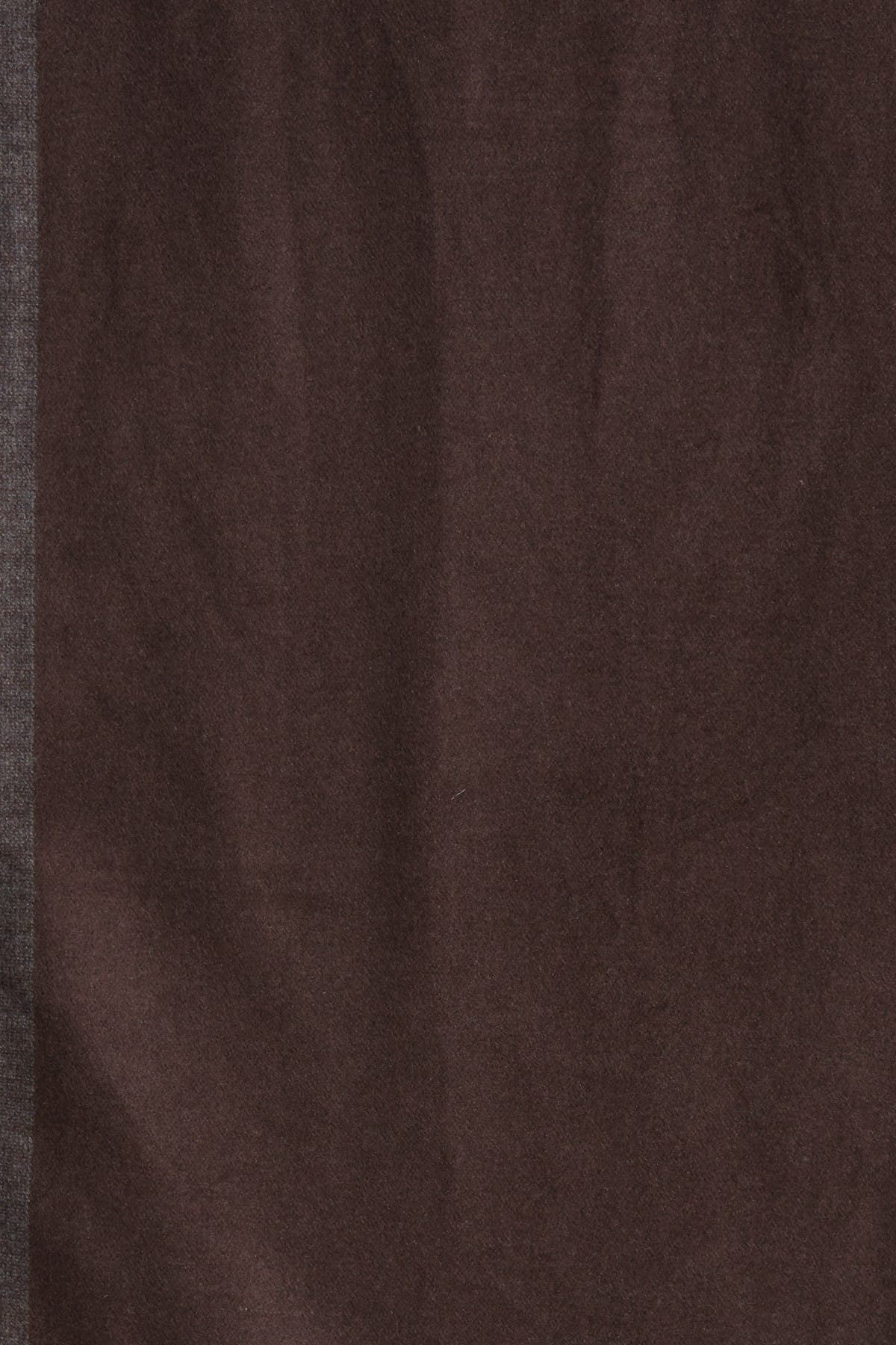 Image of Chelsey Imports Reverse Border Trim Silk Scarf