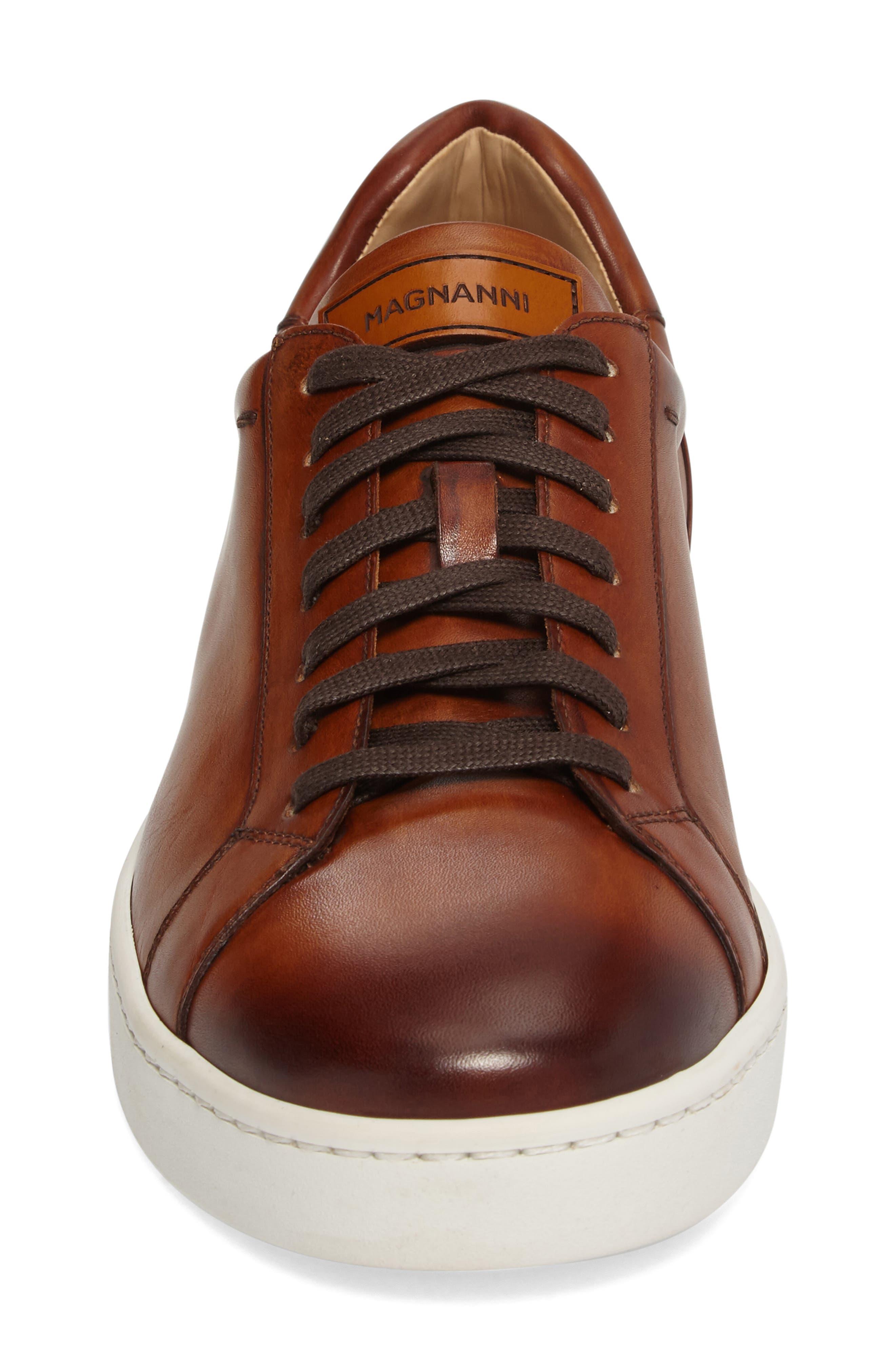 ,                             Caballero Sneaker,                             Alternate thumbnail 4, color,                             COGNAC LEATHER