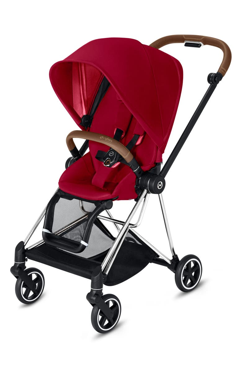 CYBEX Mios Compact Stroller, Main, color, TRUE RED