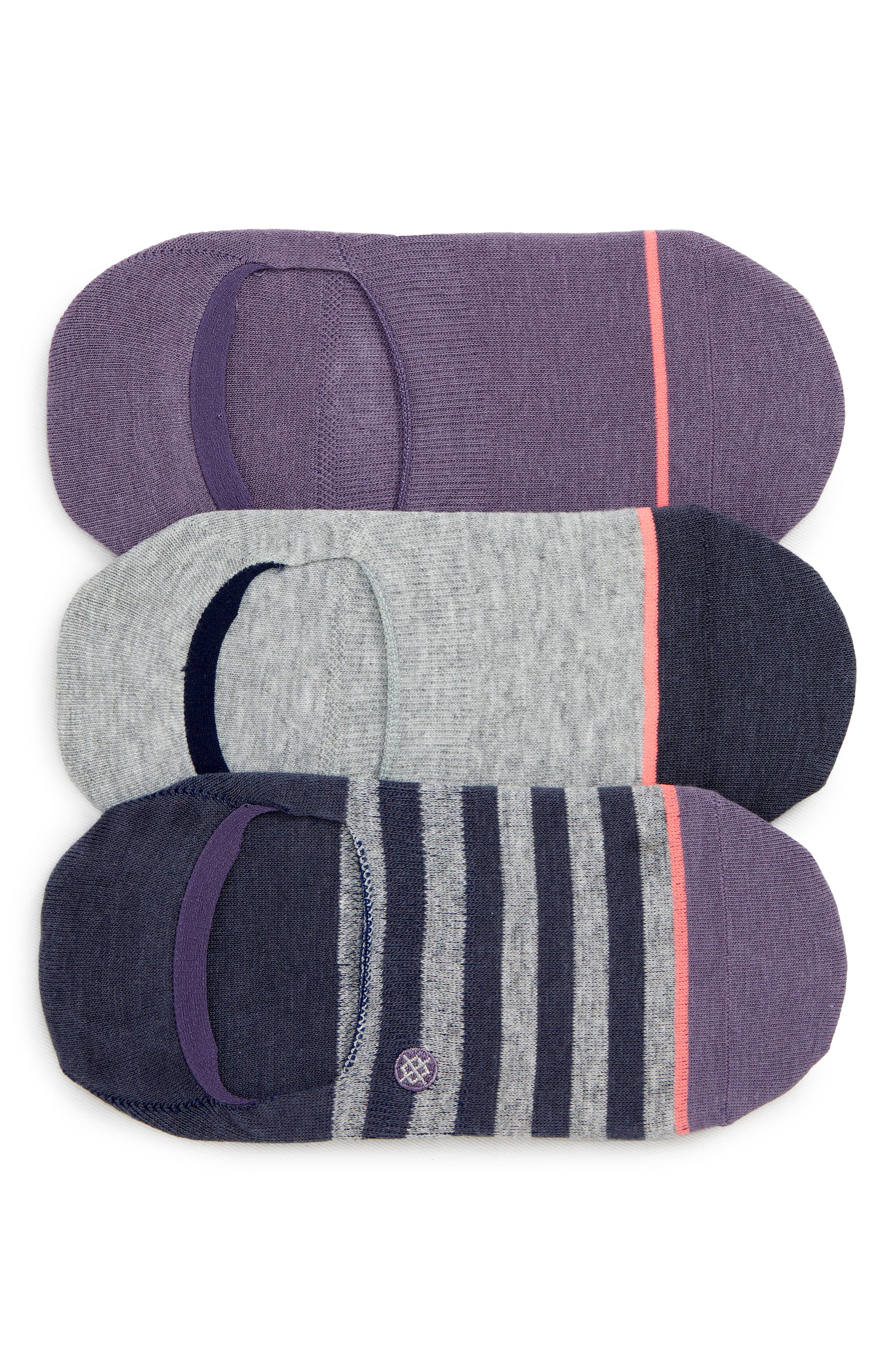 Stance Women/'s No Show Socks Sensible 2.0 Invisible 3 Pack Medium