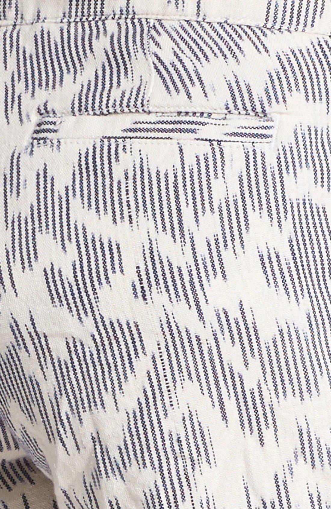 ,                             'Leela' Ikat Print Shorts,                             Alternate thumbnail 3, color,                             101