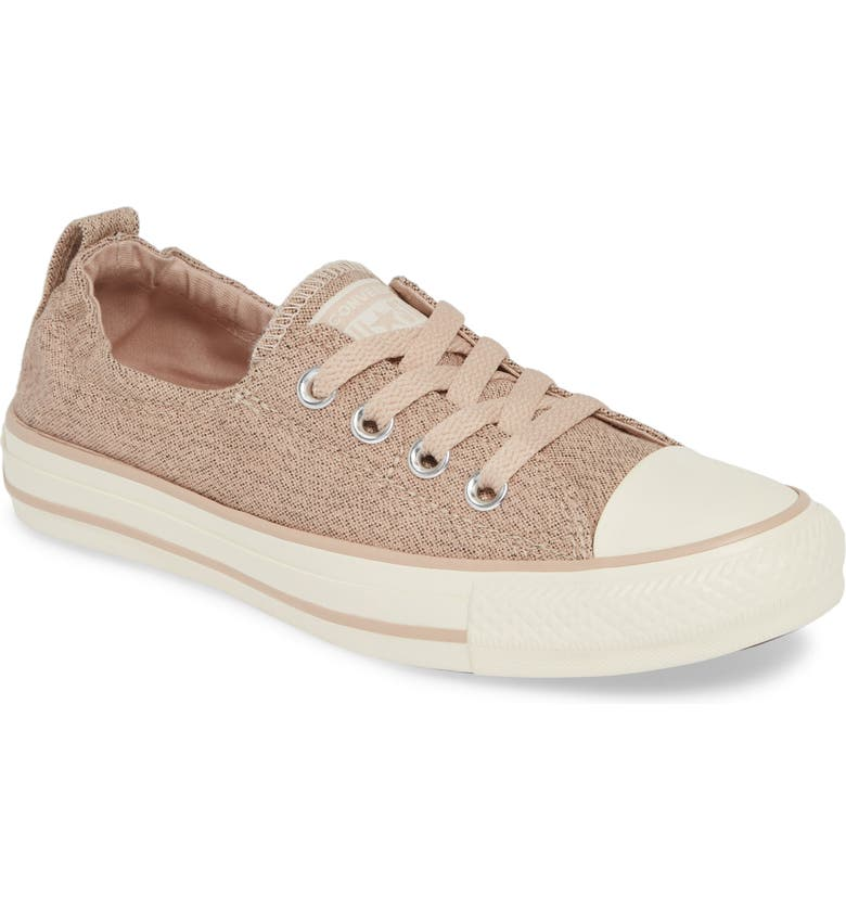 CONVERSE Chuck Taylor<sup>®</sup> 'Shoreline' Sneaker, Main, color, PARTICLE BEIGE