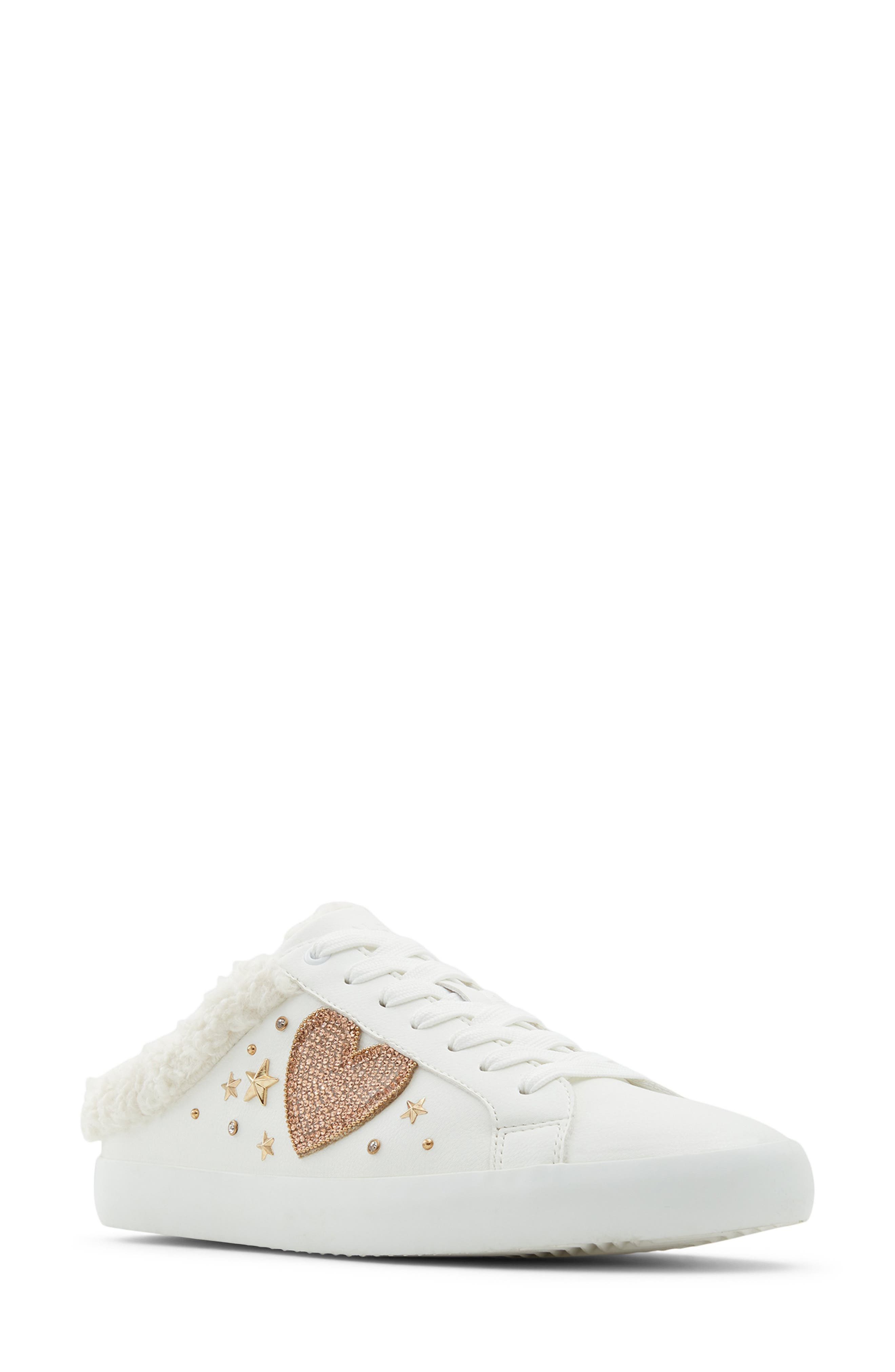 Lovey Faux Shearling Lined Sneaker Mule