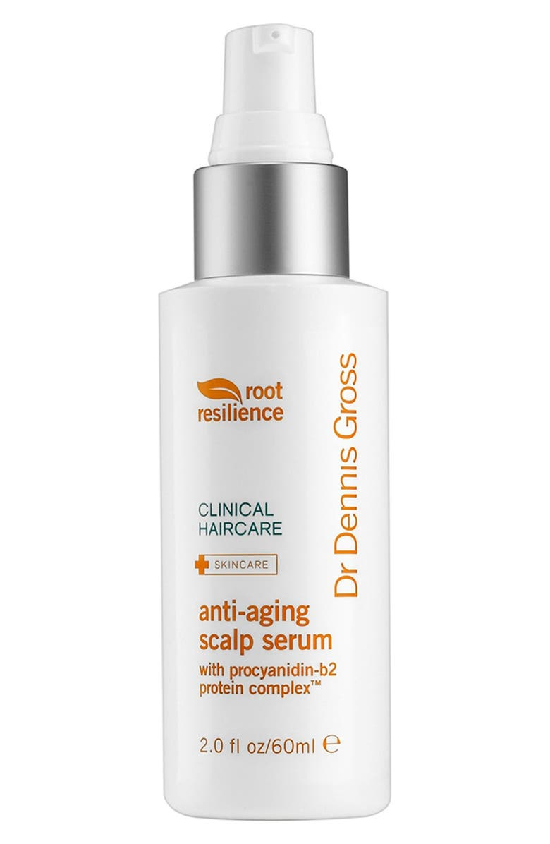 DR. DENNIS GROSS Skincare 'Root Resilience' Anti-Aging Scalp Serum, Main, color, 000