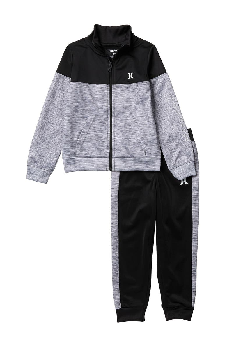 HURLEY One & Only Jacket & Pants Set, Main, color, 223CHAR HT