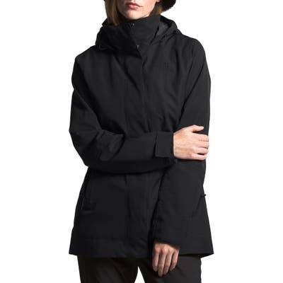 The North Face Westoak City Waterproof & Windproof Coat, Black