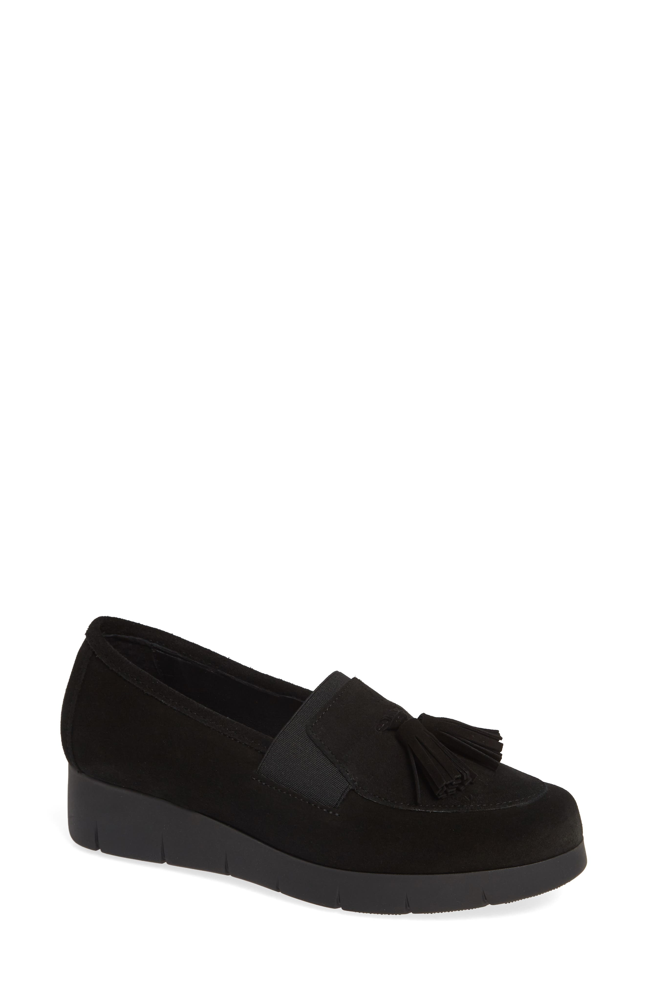 Cordani Alias Water-Resistant Loafer, Black