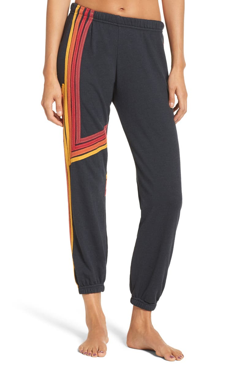AVIATOR NATION Blaze 4 Sweatpants, Main, color, 020