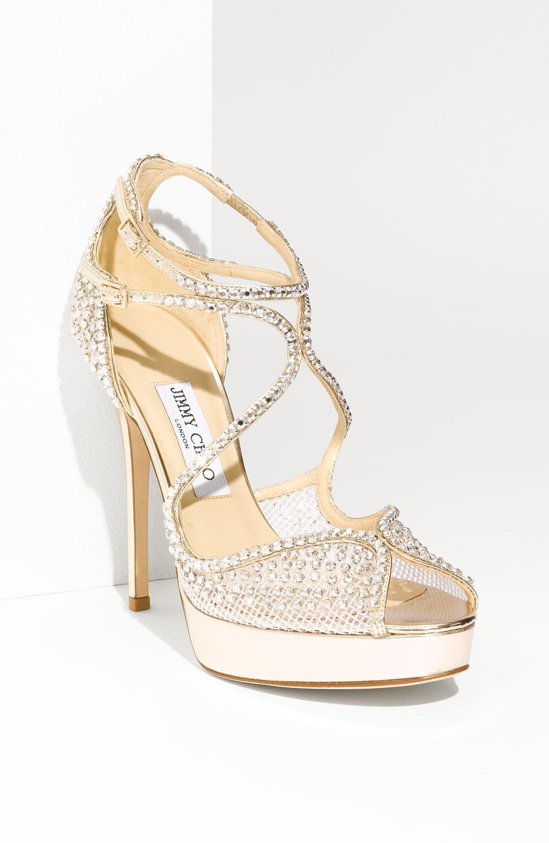 'Fairview' Crystal Embellished Sandal, Main, color, 040